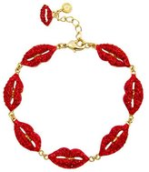 Butler & Wilson Butler and Wilson Crystal Multi Lip Bracelet