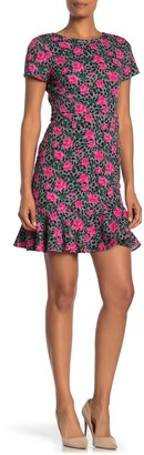 Betsey Johnson Vintage Short Sleeve Printed Dress