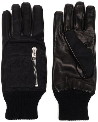 Alexander McQueen Pocket Detail Gloves