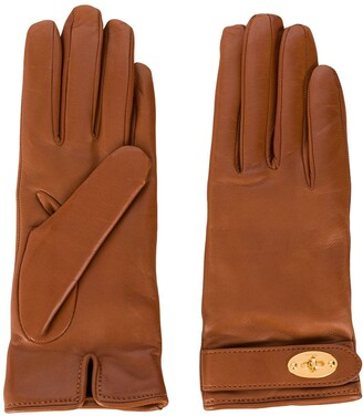 Mulberry Darley leather gloves