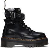 Thumbnail for your product : Dr. Martens Black Jadon Hardware Platform Boots