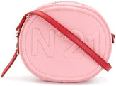 No.21 logo clutch bag - women - Leather - One Size