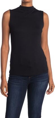 Halogen Mock Neck Tank