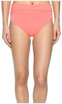 Vince Camuto Fiji Solids Convertible High Waist Bikini Bottom