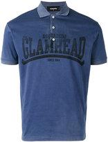 DSQUARED2 logo short sleeve polo shirt
