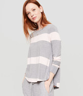 Lou & Grey Striped Signaturesoft Hi-Slit Tunic