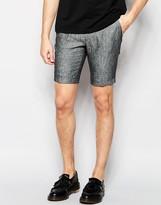 Vito 100% Linen Formal Shorts