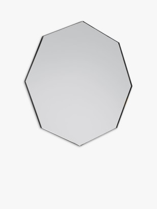 Unbranded Bowie Octagonal Metal Frame Mirror, 80 x 80cm
