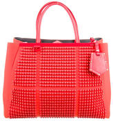 Fendi Studded Medium 2Jours Tote