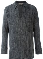 Tony Cohen V-neck long sleeved T-shirt - men - Cotton - 46