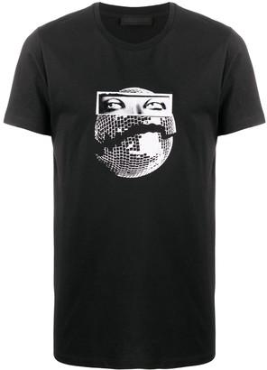 Diesel Black Gold graphic-print cotton T-shirt