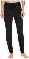 DKNY Stretch Velour Leggings Women's Pajama