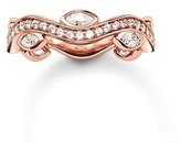 Thomas Sabo Infinity of Love Rose Jewel Wave Ring TR2011-416-14