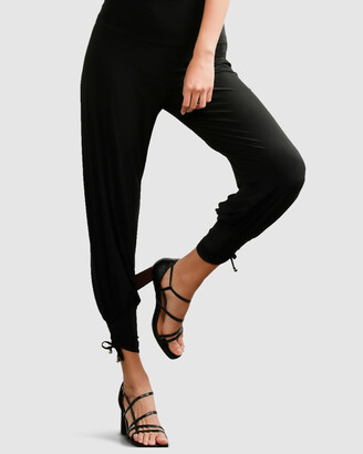 SACHA DRAKE - Women's Black Dress Pants - Harem Pants - Size One Size, 8 at The Iconic