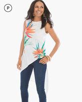 Chico's Palm-Print Tunic