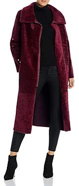 Nour Hammour Roxanne Real Sheep Shearling Coat