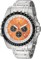 Thumbnail for your product : Oceanaut Men's Aviador Pilot Stainless Steel Quartz Watch with Stainless-Steel Strap