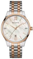 Bulova Two-Tone Bracelet Watch