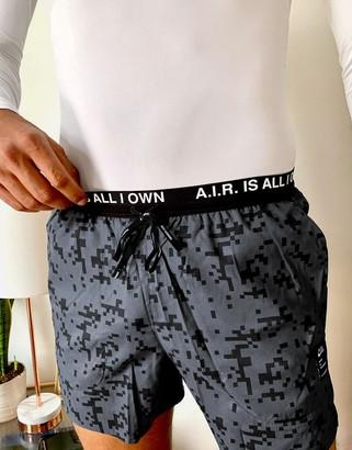 Nike Running Andrew Savage Flex Stride 5in shorts in black