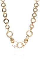 St. John Hammered Metal Necklace