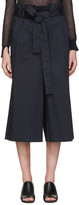 KUHO Navy Funis Paperbag Culottes