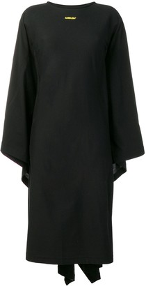 Ambush Draped Back Asymmetric Dress