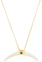 Chan Luu Water Buffalo Horn & Gemstone Pendant Necklace