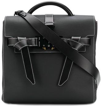 Alyx Dual Buckle Top Handle Tote Bag