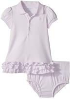 Ralph Lauren Ruffled Cotton Polo Dress Girl's Dress