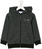 DKNY zip up hoodie with logo