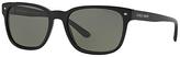 Giorgio Armani AR8049 Polarised Rectangle Sunglasses