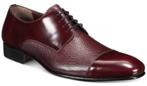 Mezlan Men's Mixed-Leather Oxford Shoes Men's Shoes