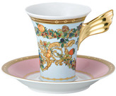 Versace Le Jardin Espresso Cup & Saucer