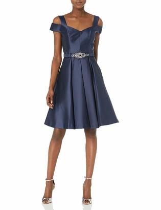Eliza J Women's Off The Shoulder Flared Dress
