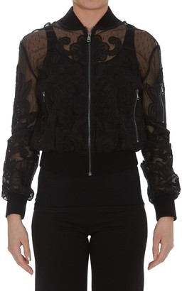 RED Valentino Tulle Bomber