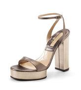Michael Kors  Platform Sandal, Gray
