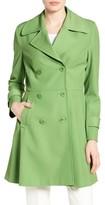 Trina Turk Women's Rosemarie Skirted Trench Coat