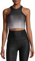 Beyond Yoga Fade To Black Studio Bralette Sports Top, Black Pattern