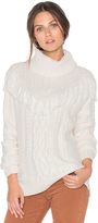 Joie Viviam Fringe Sweater