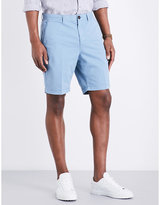 Michael Kors Straight-fit Stretch-cotton Chino Shorts
