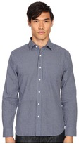 Jack Spade Grant Mini Check Point Collar Shirt Men's Clothing