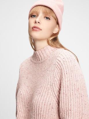 Gap Ribbed Mockneck Sweater