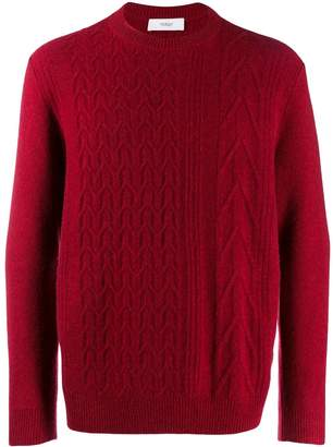 Pringle cable-knit sweater