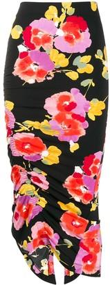 Essentiel Antwerp Vignol floral-print skirt