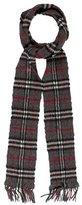 Burberry Cashmere & Wool Nova Check Scarf