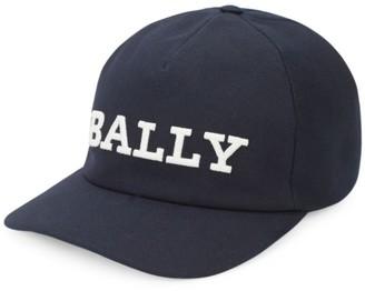 Bally Canvas Logo Baseball Cap