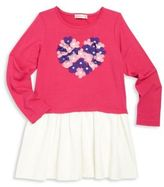 Design History Toddler's & Little Girl's Heart Embellished Dress