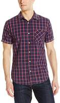 True Religion Men's SS Mineral Wash Plaid