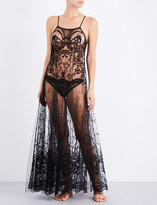 I.D. Sarrieri Juliette Dans la Nuit stretch-lace slip dress