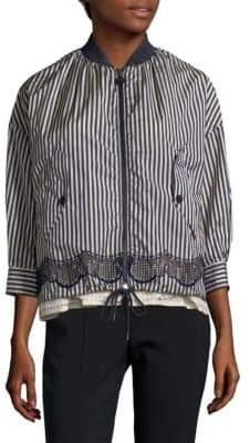 Moncler Padded Striped Jacket